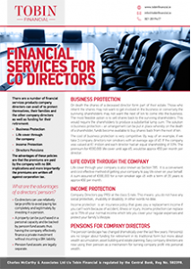 Financial Services For Co Directors